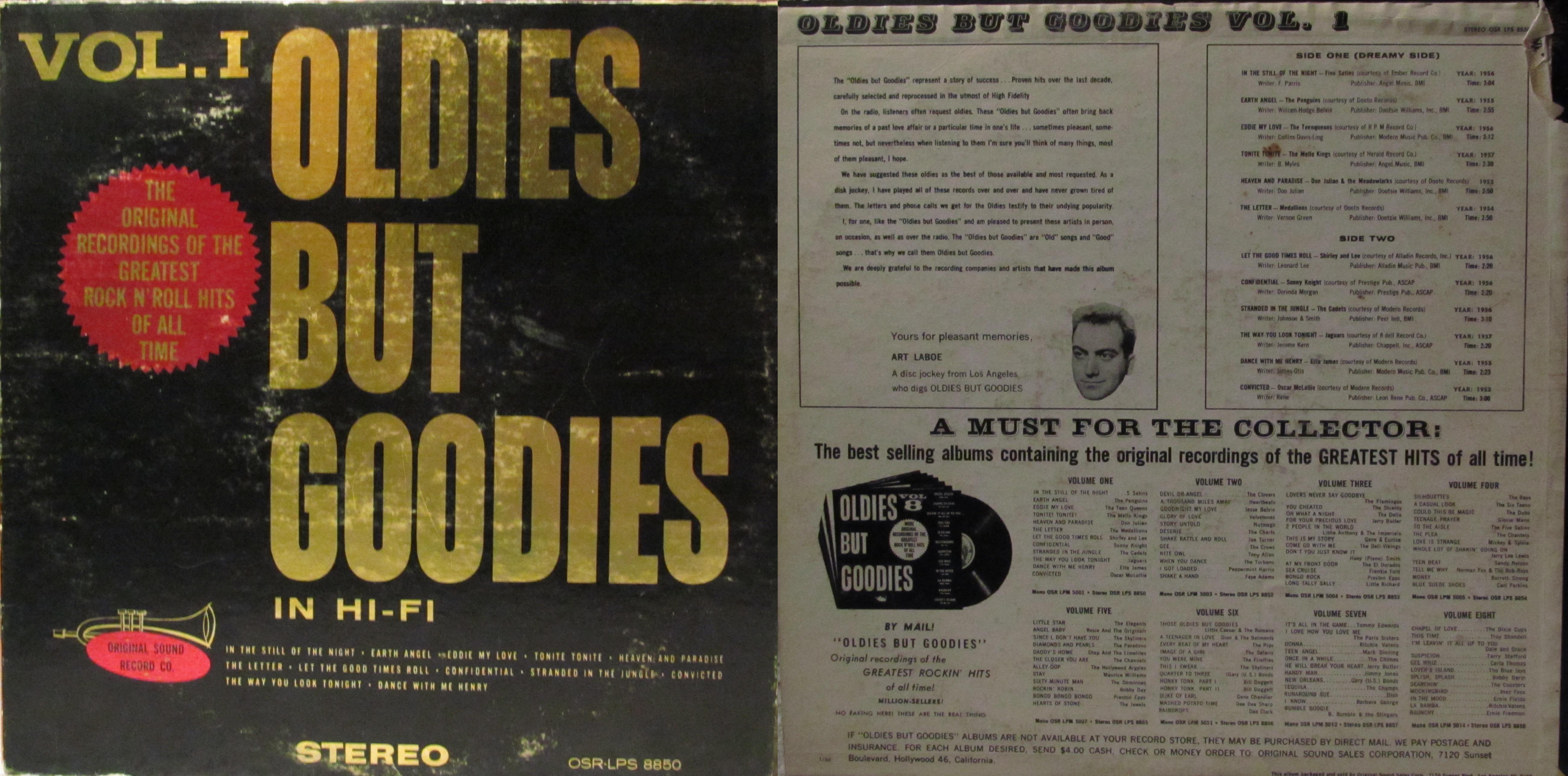 Oldies But Goodies Vol 1 My Dad S Albums