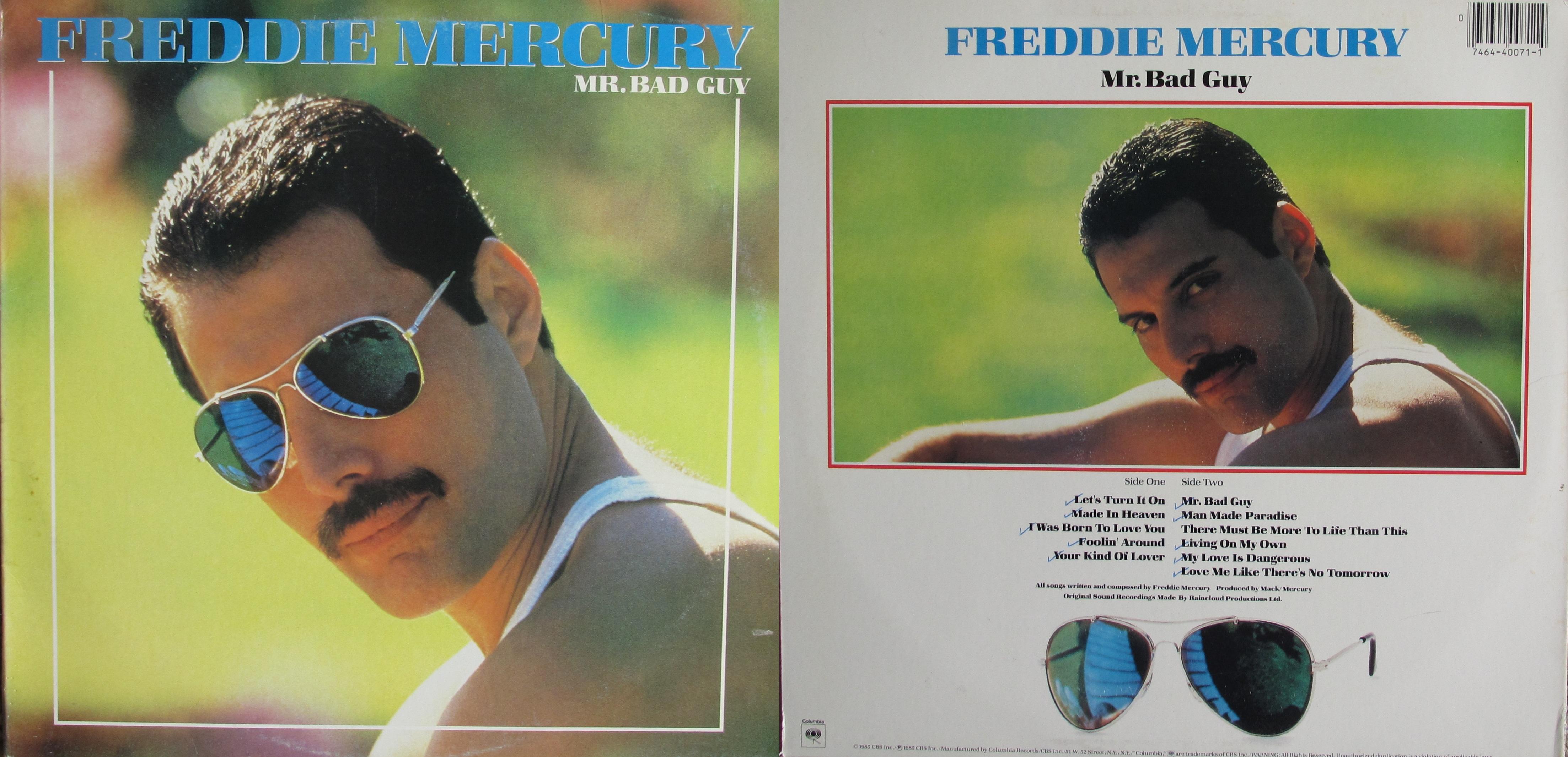 Mr. Bad Guy – My Dad's Albums