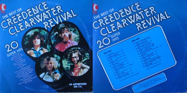 Creedence Clearwater Revival My Dad S Albums