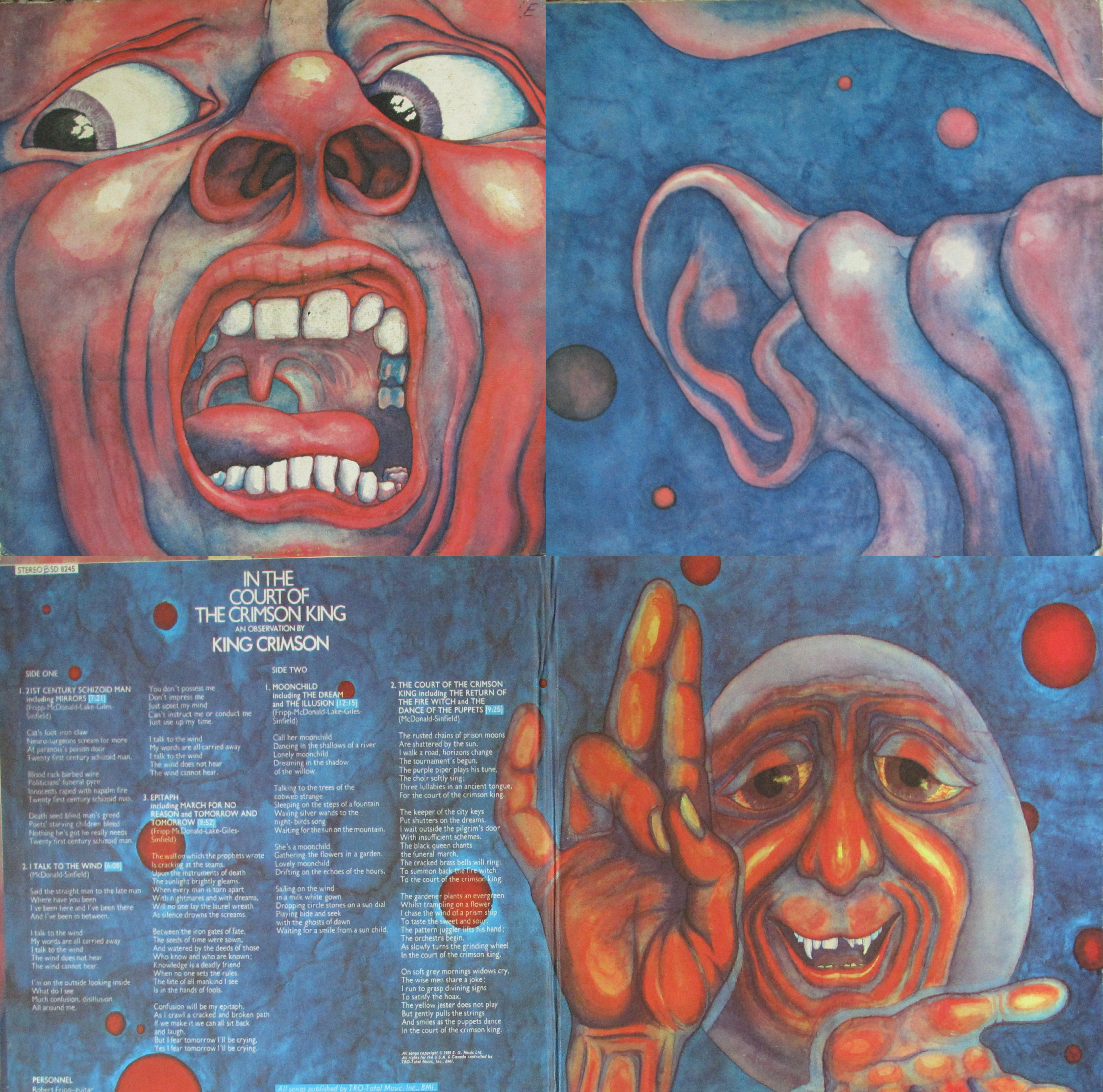 King Crimson - March 27 1974 Augsburg Germany