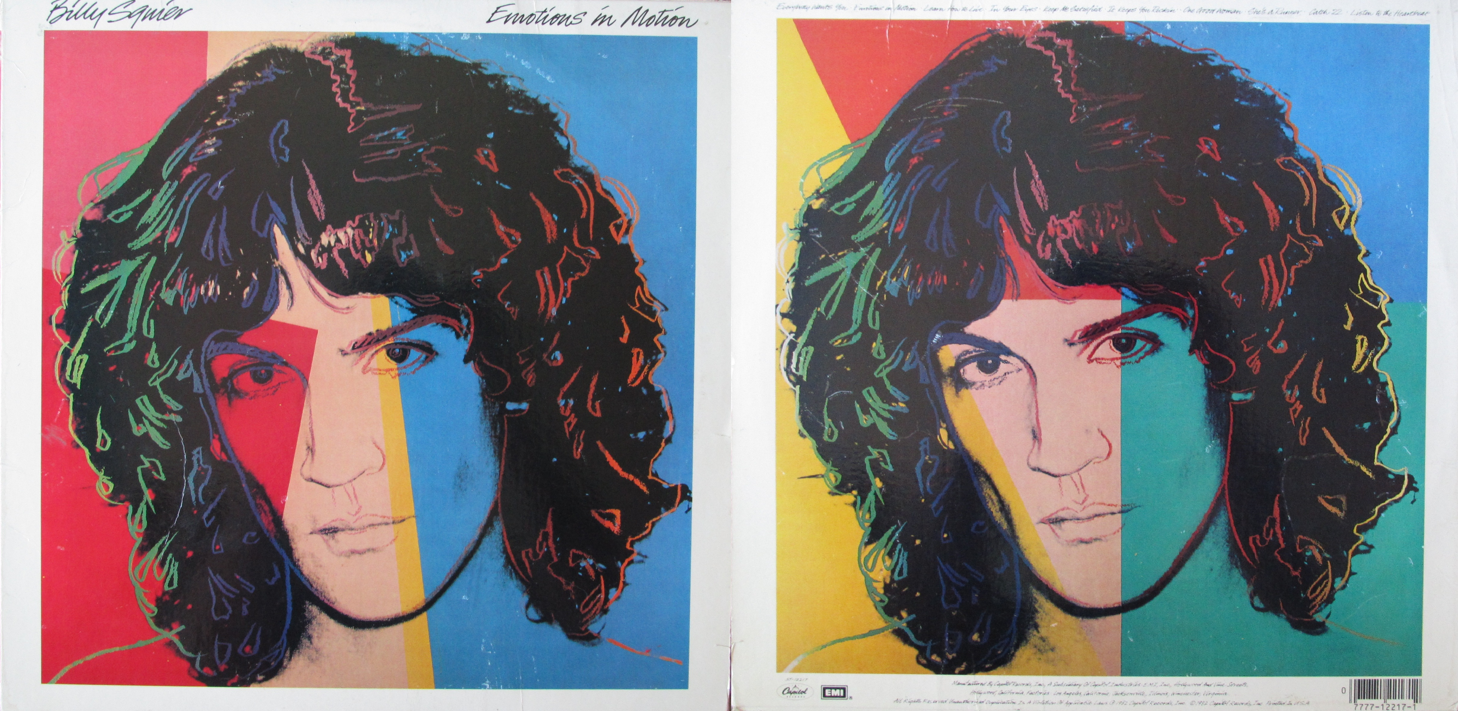Emotions In Motion With Billy Squier My Dad S Albums