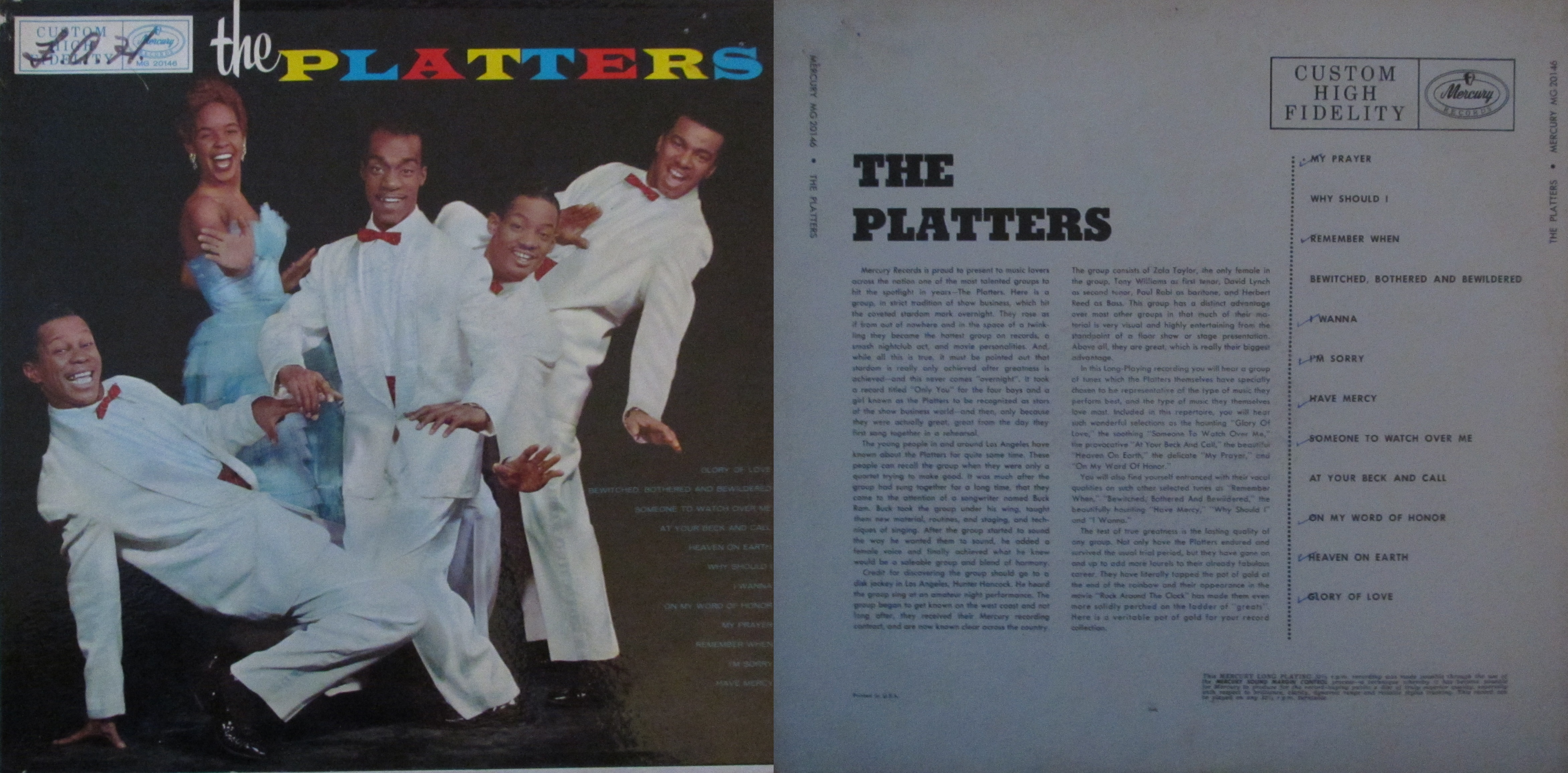 The Great Pretender My Dad S Albums