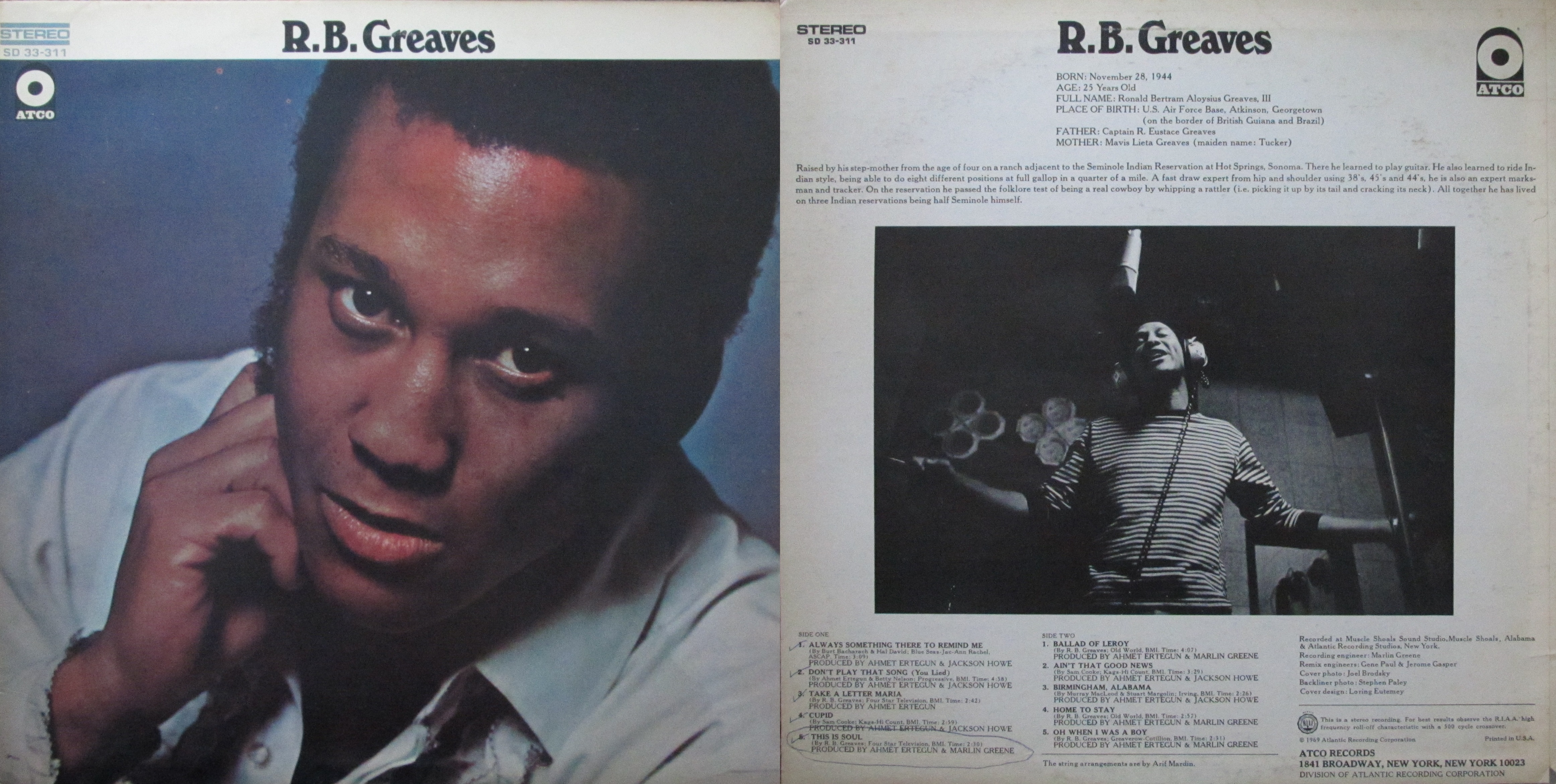 R B Greaves – My Dad s Albums