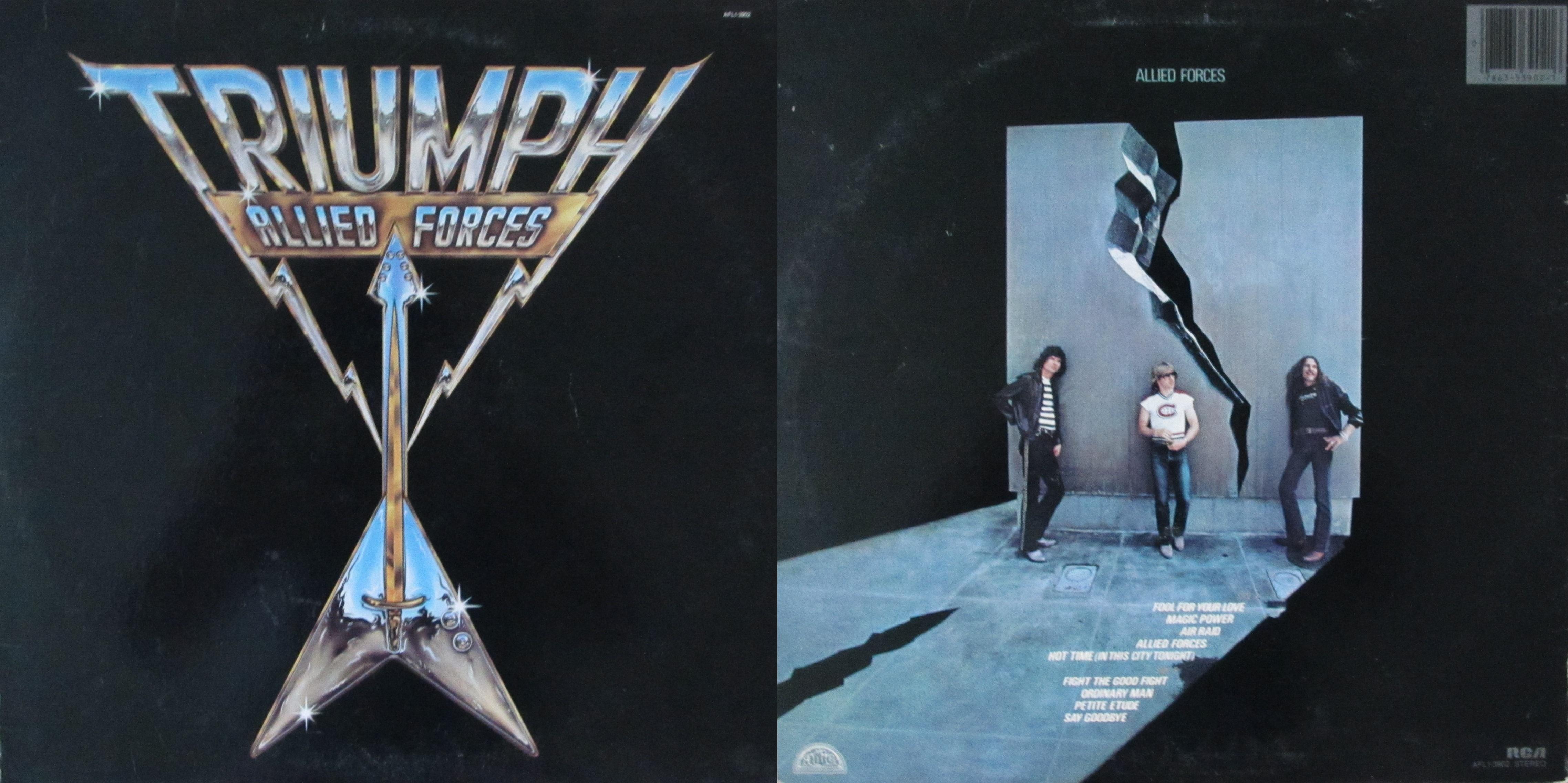 Triumph My Dad S Albums