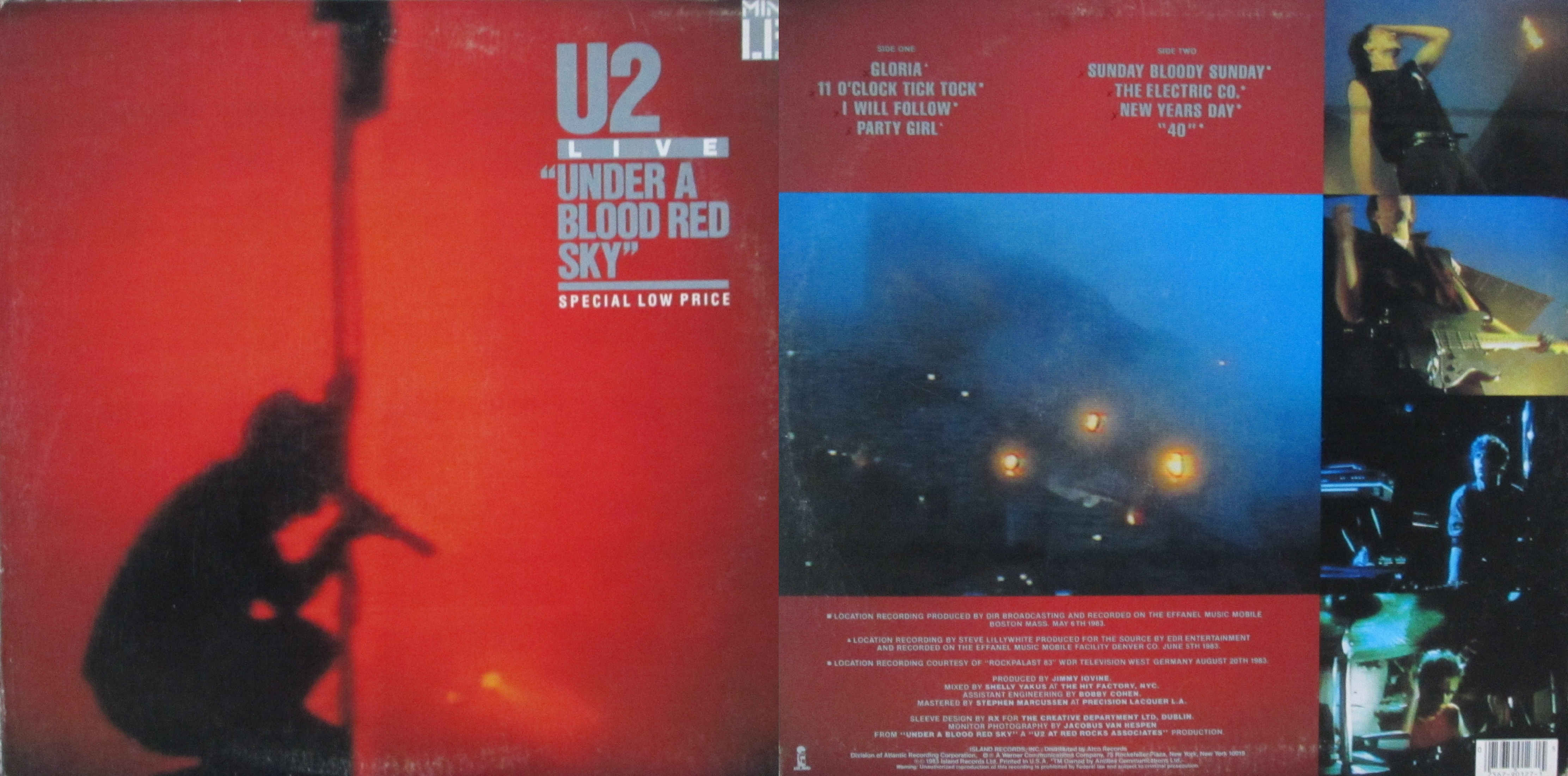 Under a Blood Red Sky – My Dad's Albums
