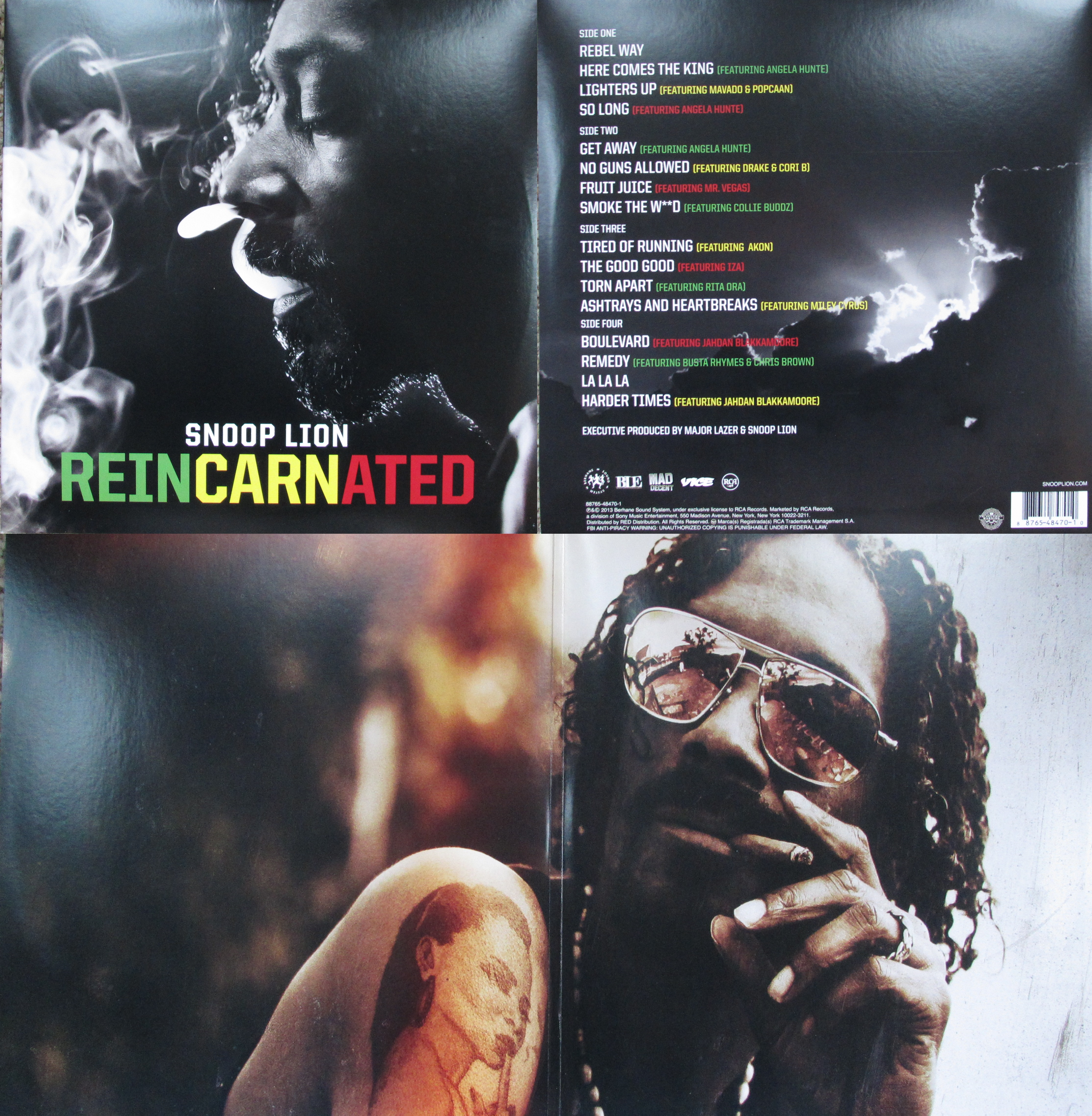 Tired of Running feat Akon Snoop Lion Lyrics