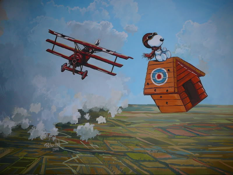 snoopy vs the red baron was inspired by the comic strip peanuts by charles schulz which featured a recurring storyline of snoopy imagining himself in - Snoopy Red Baron Christmas Song