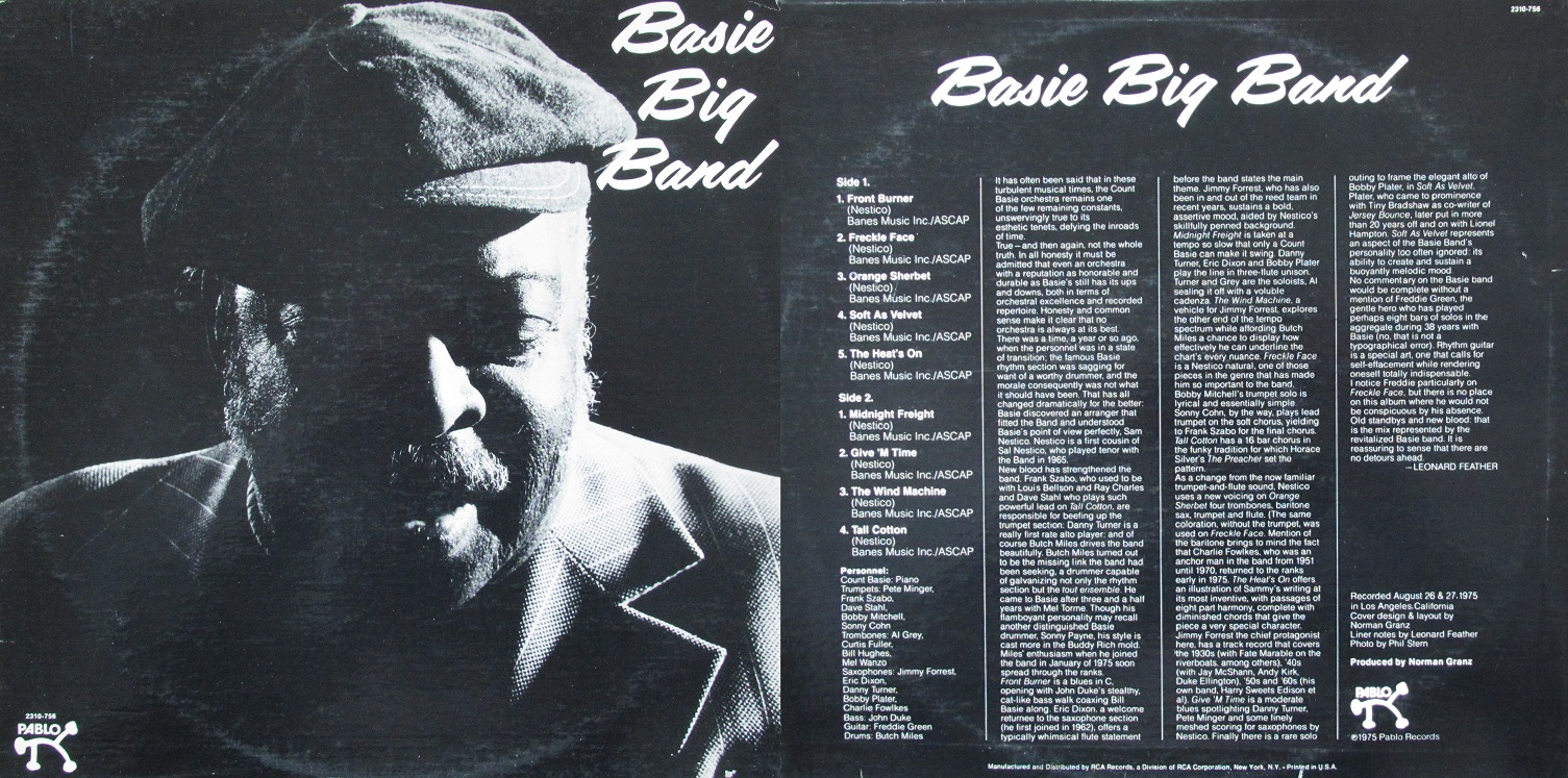 Count Basie And His Orchestra My Dad S Albums