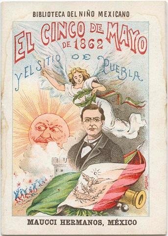 1901 poster for Cinco de Mayo