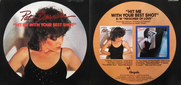 Hit Me with Your Best Shot Pat Benatar