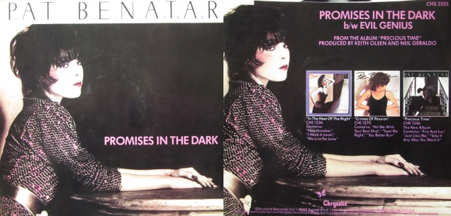 Promises in the Dark Pat Benatar