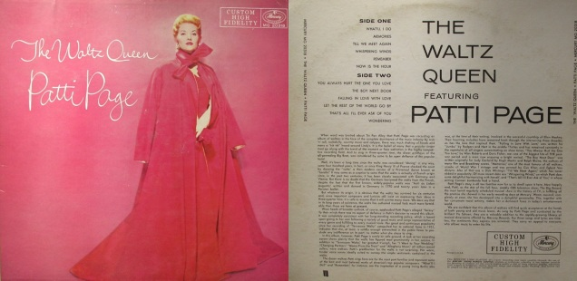 The Waltz Queen Patti Page