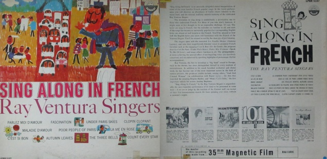 Ray Ventura Singers Sing Along in French