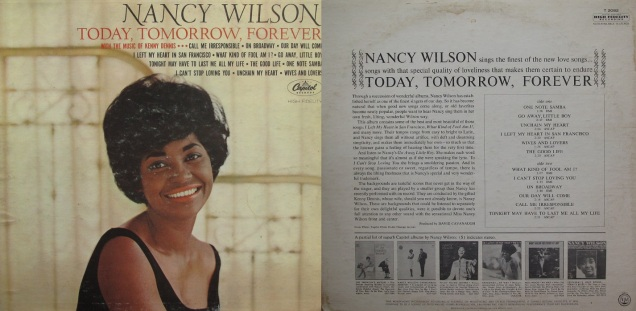 Nancy Wilson Today, Tomorrow, Forever