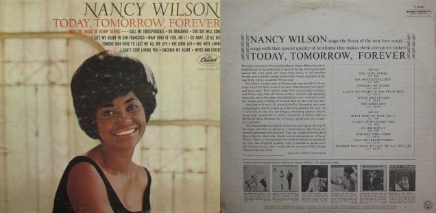 Nancy Wilson Today, Tomorrow, Forever