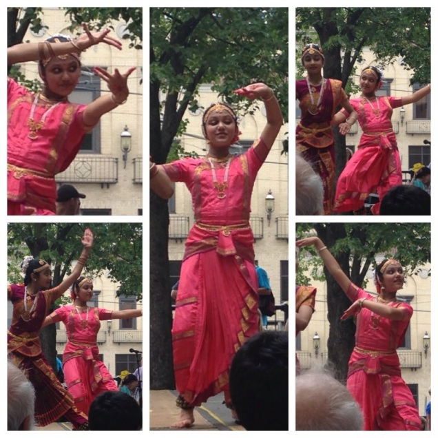 Indian Dance Collage Folk Fest 2015